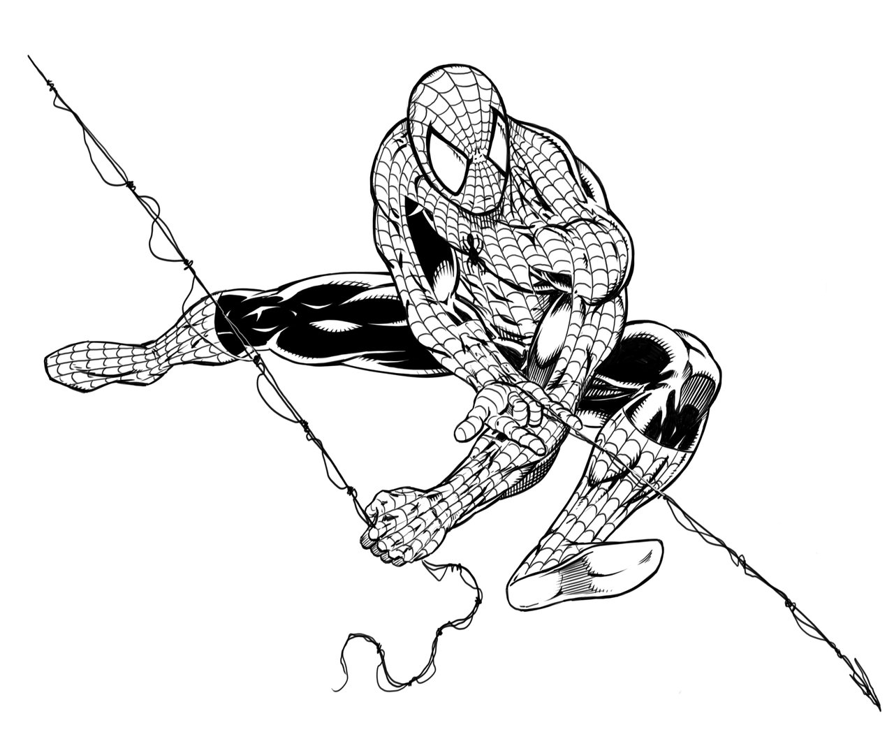 1280x1068 Sketch Spiderman Spiderman Realistic Art, Pencil Drawing Images