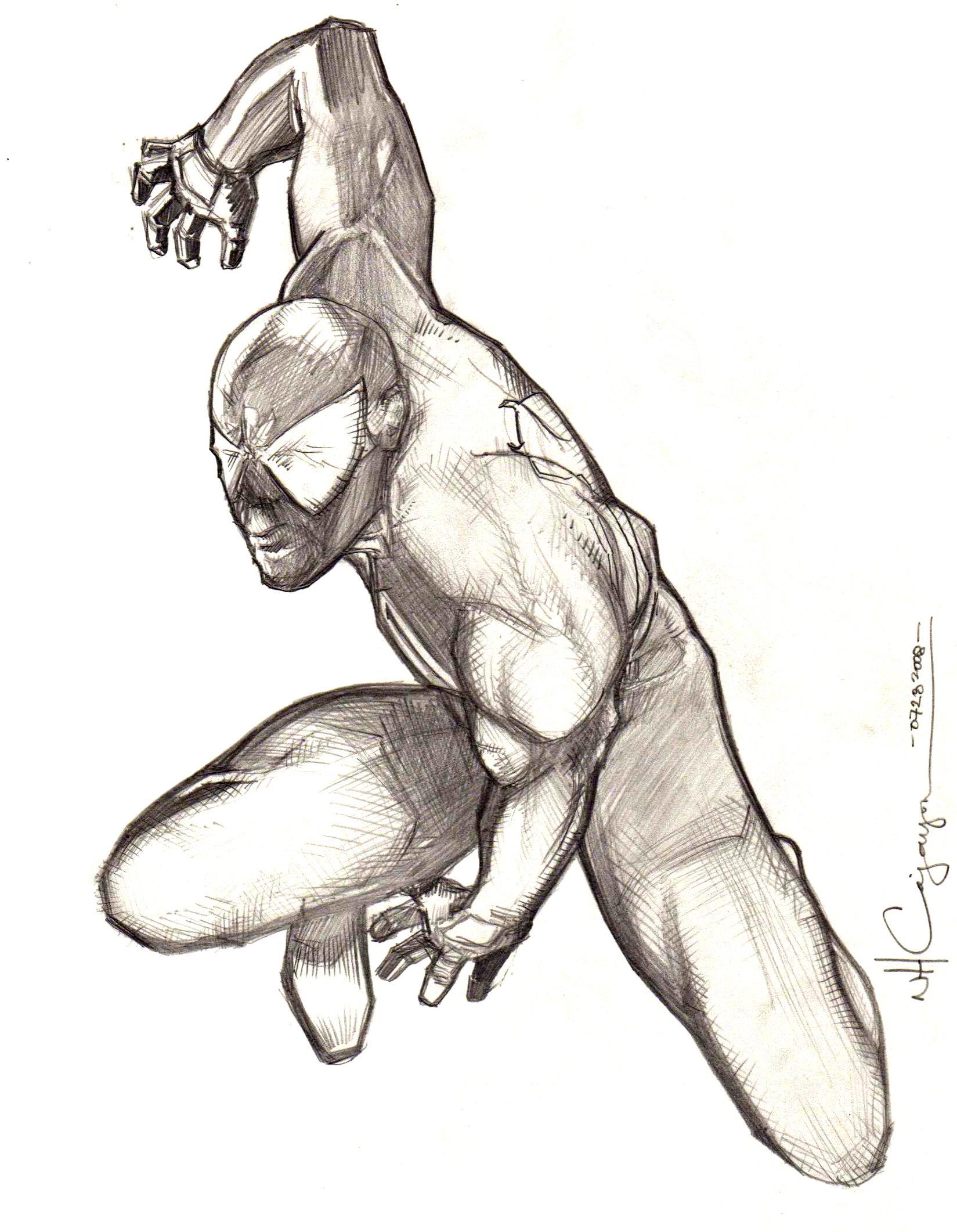 1649x2122 Spider Man Pencil 2 By Ncajayon