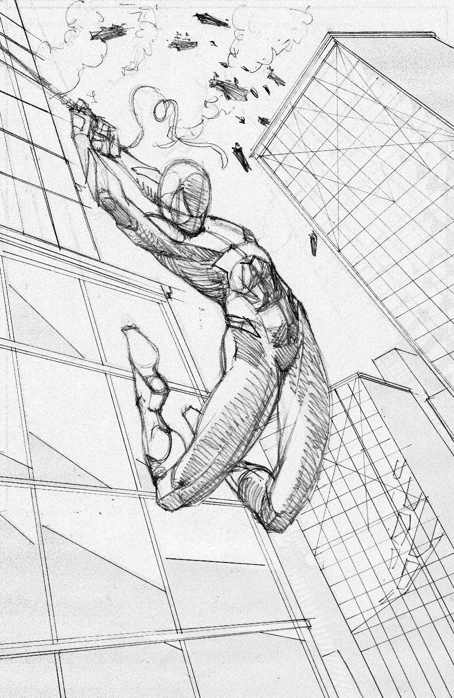 892x1370 Spider Man Processes 2 Pencils