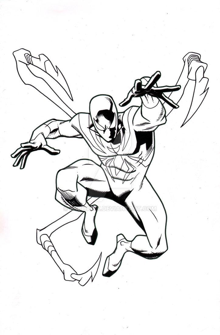 724x1103 Ultimate Spider Man Episode 8 Iron Spider By Brohawk