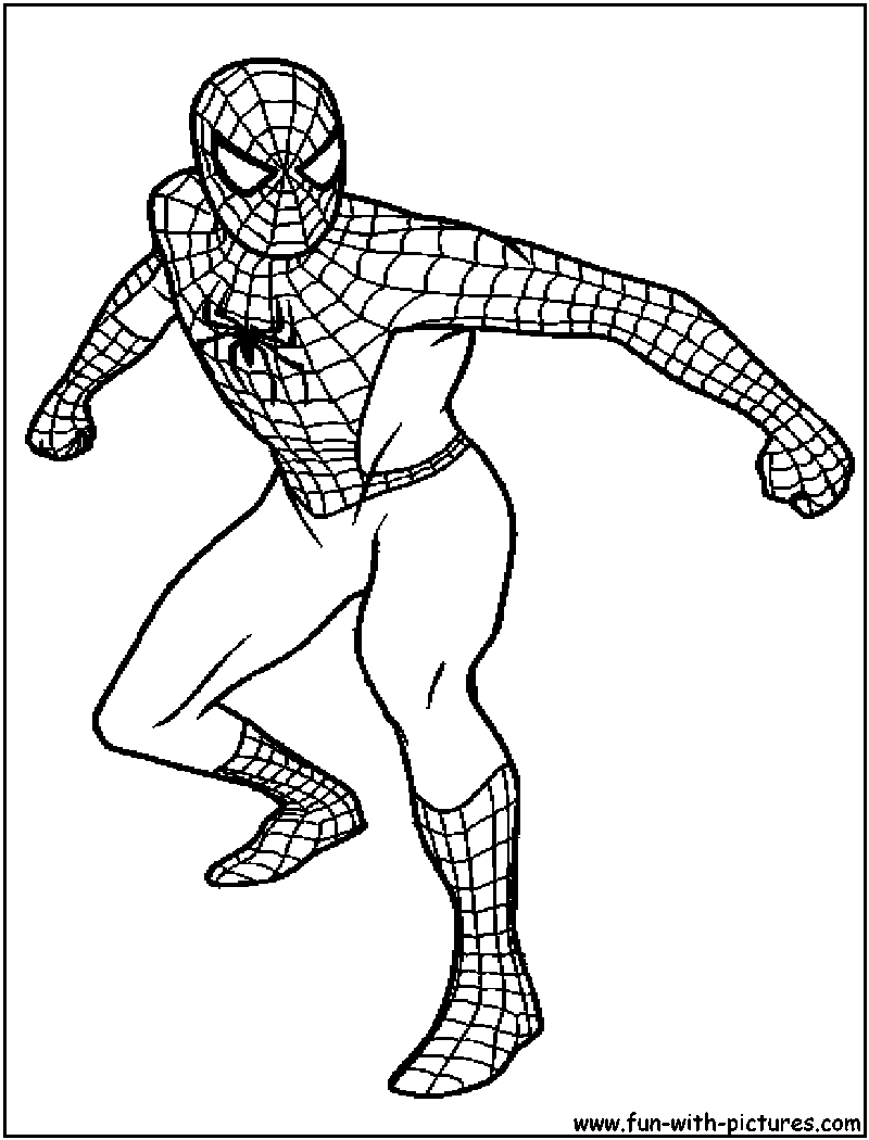 800x1050 Friendorfoe Coloring Page On Spiderman Coloring Pages Simple Super