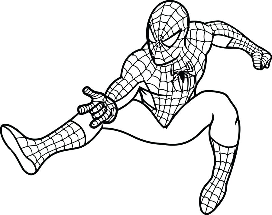 900x712 Best Of Spiderman Coloring Pages Pictures Easy Coloring Pages