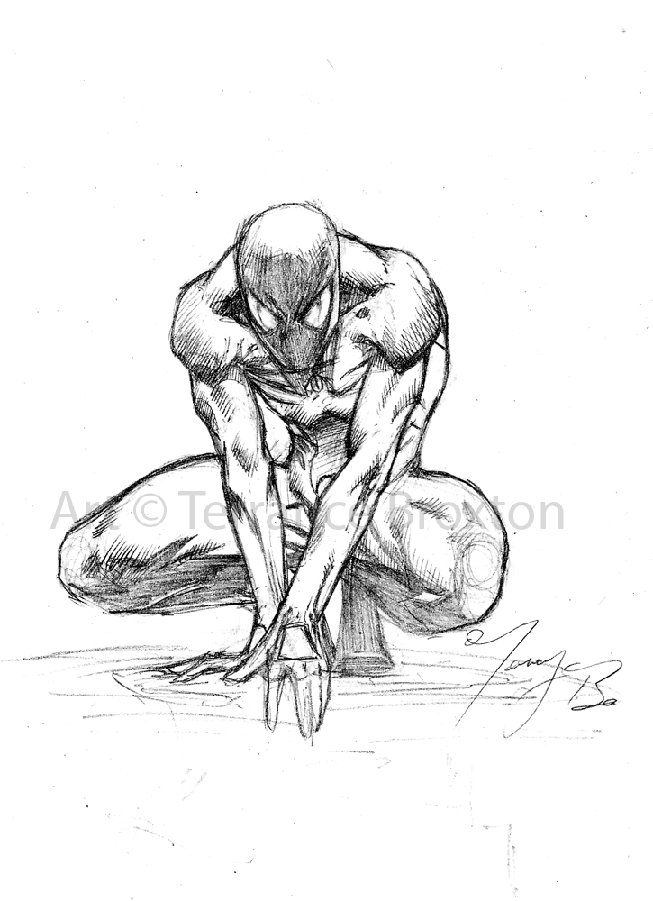 725x1000 Spider Man Sketch By The Angel Of Angels