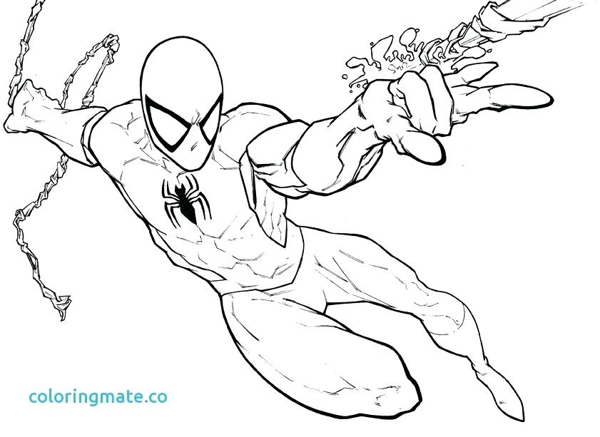 841x613 Spiderman Color Book As Well As Drawn Simple 3 68