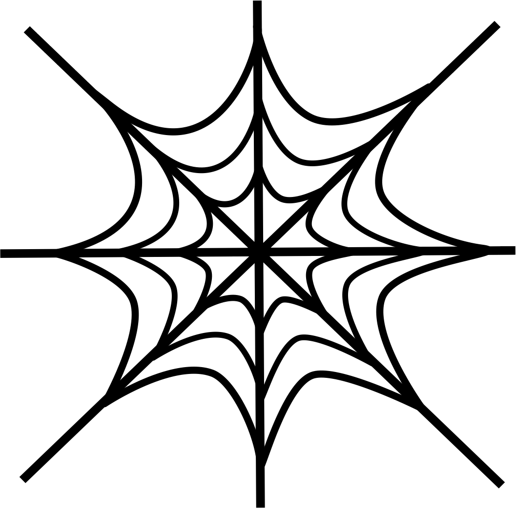 1057x1044 Free Printable Spider Web Coloring Pages For Kids