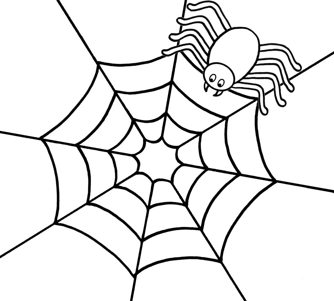 1164x1052 preschool spider web coloring page coloring