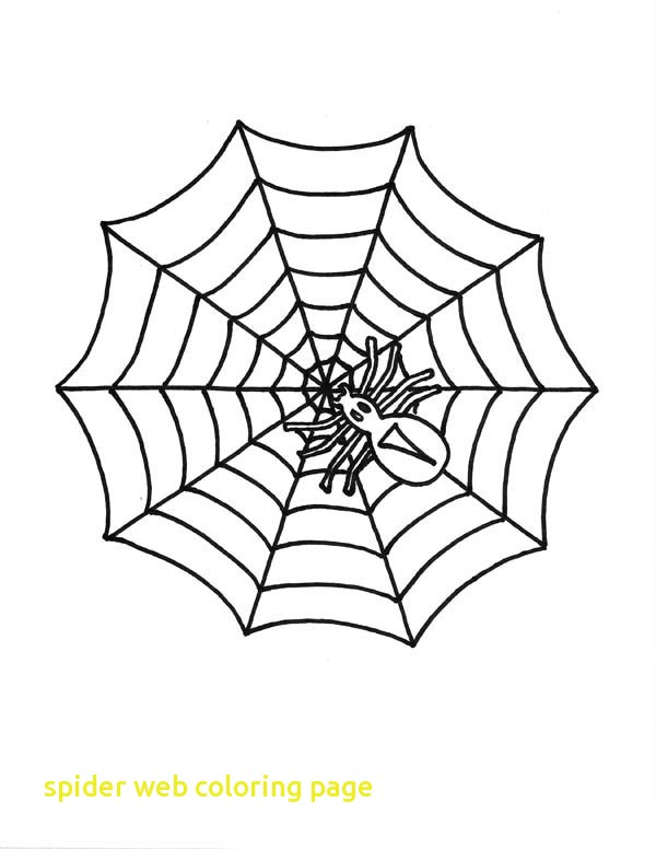 600x776 Spider Web Coloring Page With Spider Web Coloring Pages 2 Drawing