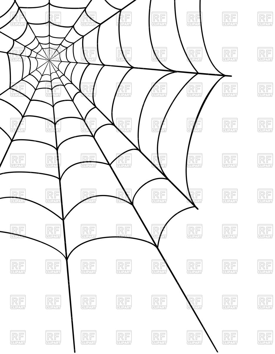 934x1200 Spider Web Royalty Free Vector Clip Art Image