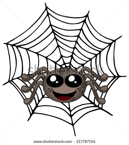 418x470 Fresh Spider Web Cartoon Images Stock Images Similar To Id Vector