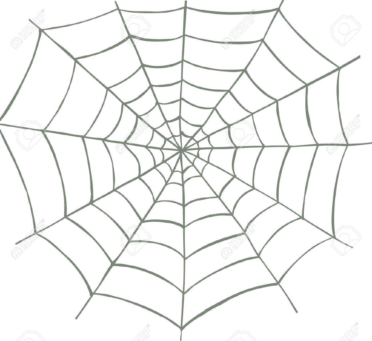 1300x1192 Spider Web Cartoon Drawing Clip Web Art Spider Clipart Download