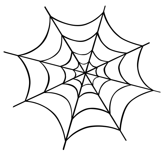 580x540 Spider Web Cartoon Pictures Of Spiders Az Coloring Pages Clipart