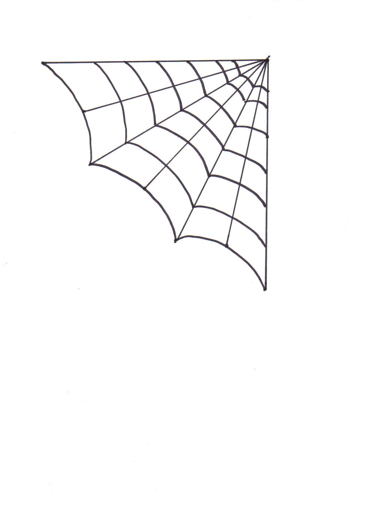 1275x1754 Yarn Glue Spider Web