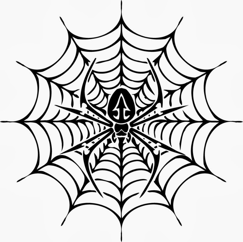 799x795 free printable spider web coloring pages for kids - Pictures Of Spiders To Colour In