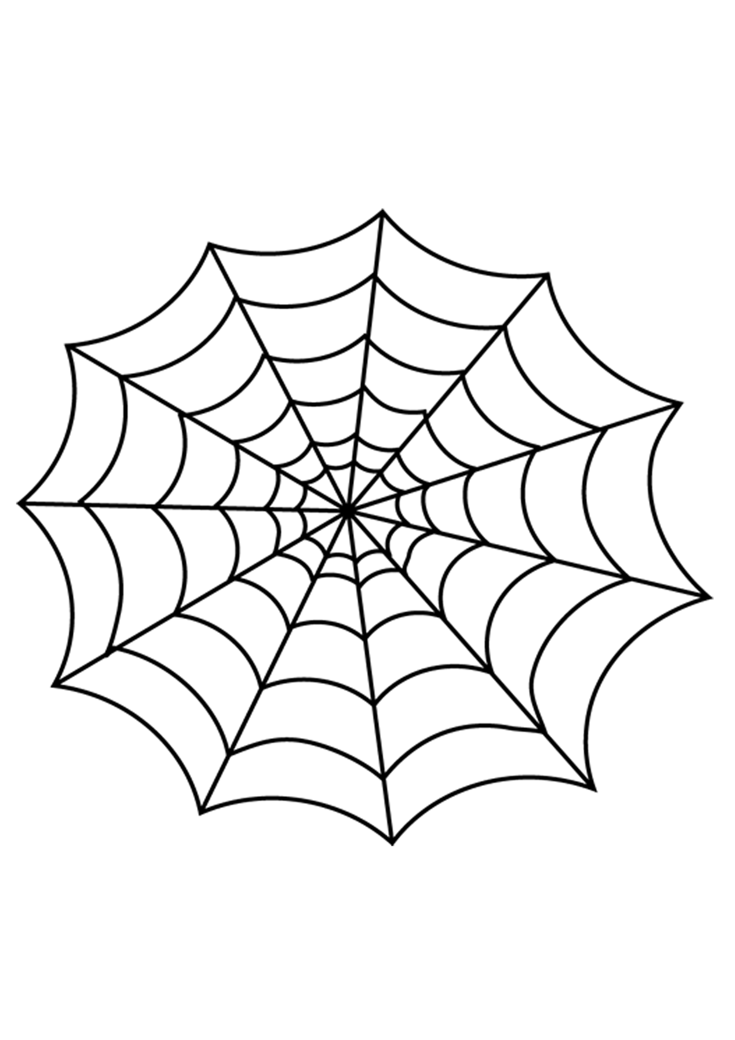 2480x3508 How To Make Glitter Glue Spider Web Halloween Decorations