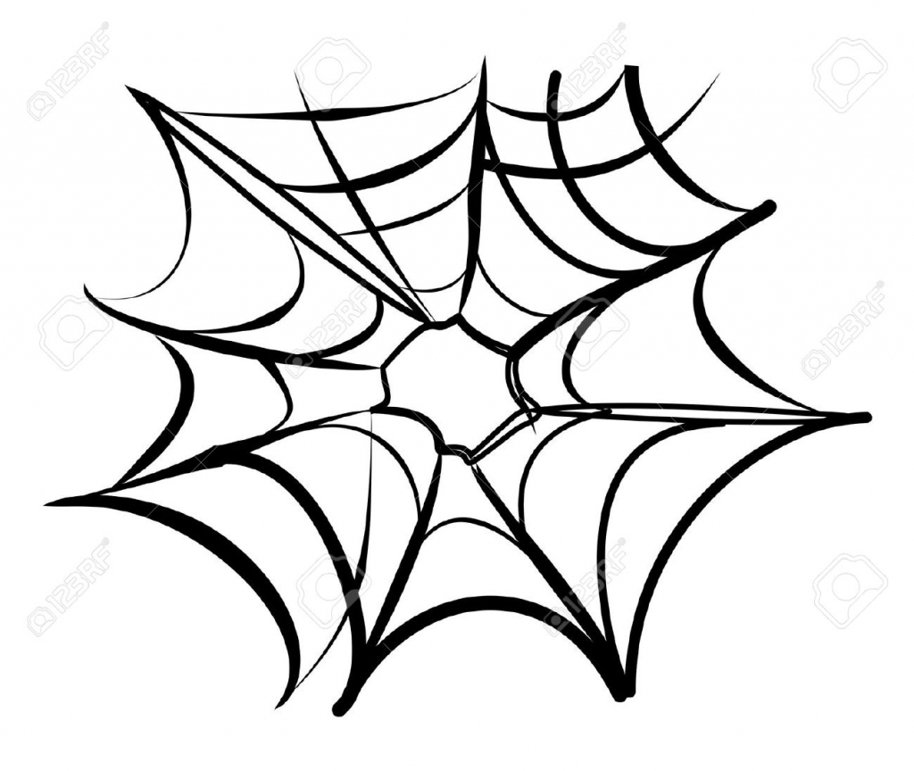 1024x864 Simple Spider Web Drawing Drawing Of A Spider Web