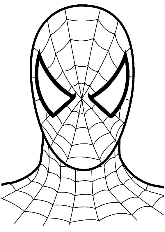 567x794 Spiderman Coloring Pages For Little Kids Printable Pretty Draw