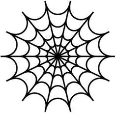 Printable Spider Web Template Sivandearest