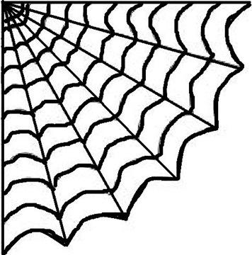 356x360 Wobisobi Hot Glue Spiderweb, Diy