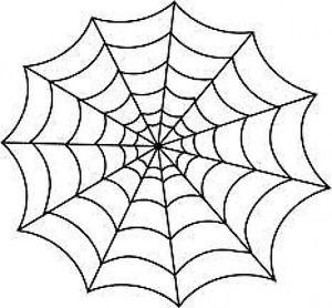300x278 20 Water Slide Nail Art Transfer Halloween Spider Web 38 Inch