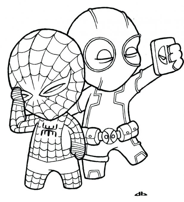 Spiderman 3 Drawing at GetDrawings.com | Free for personal use ...