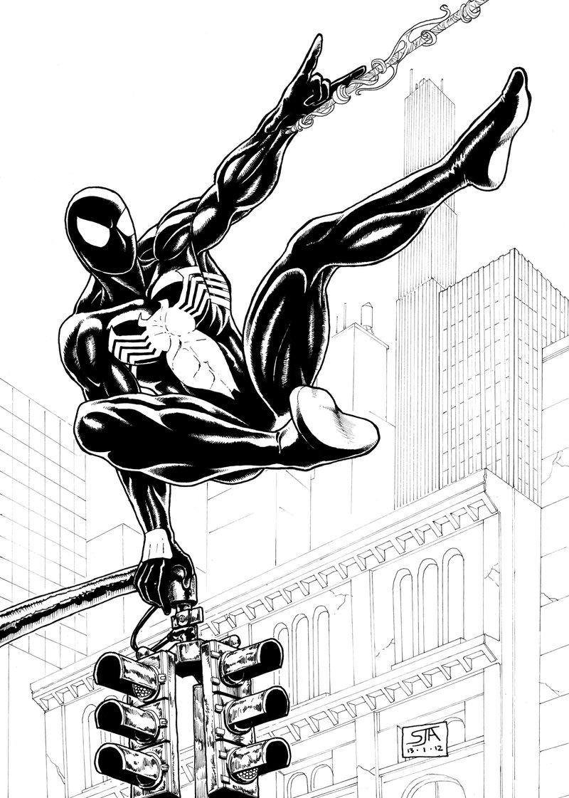 800x1121 Spider Man 2 (2012) Inks By Steveandrew