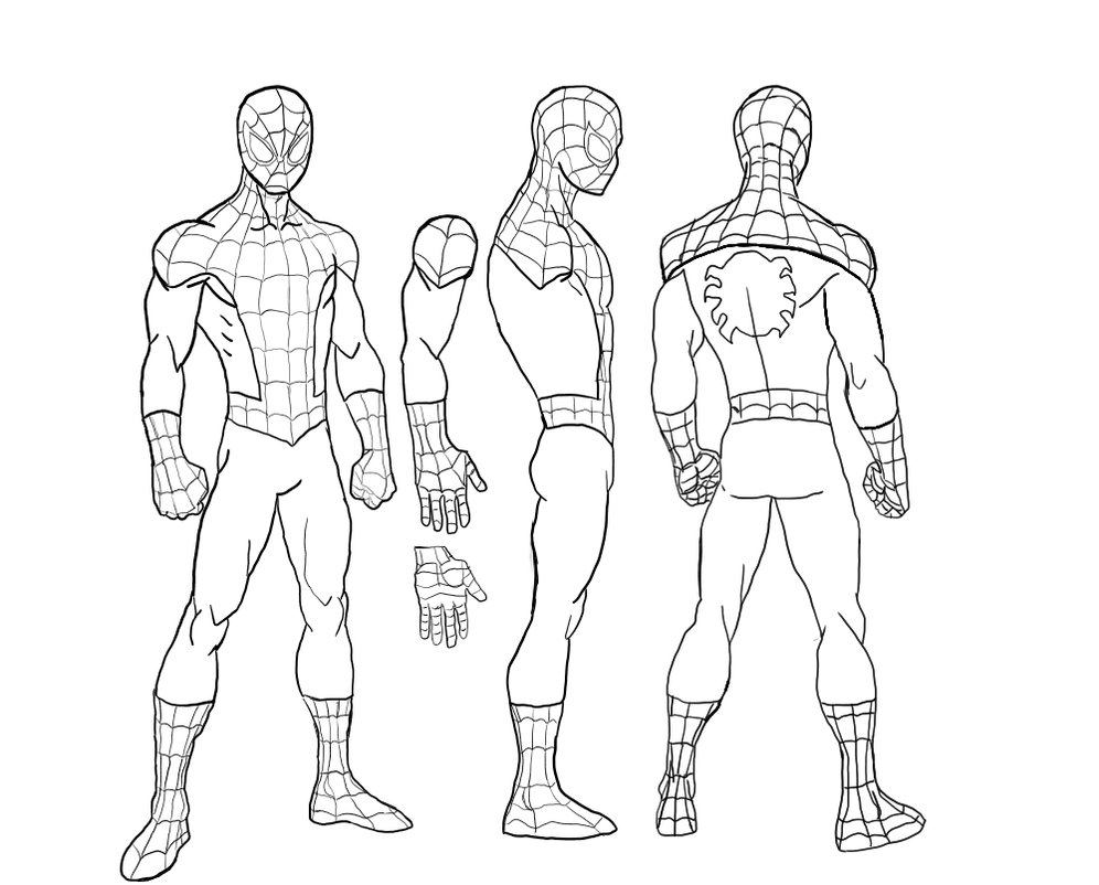 996x802 Spider Man Suit Base By Voidembodiment