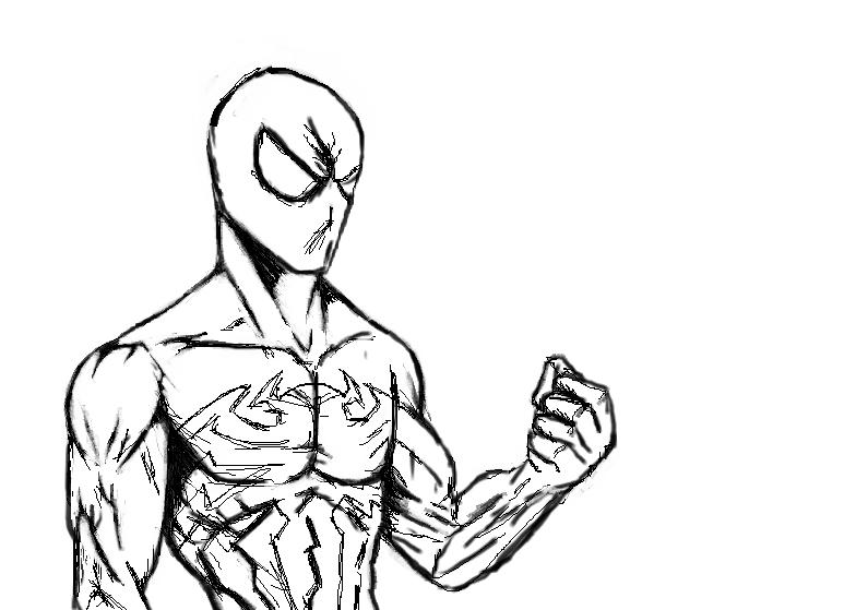 773x559 Black Suit Spider Man By Hulk1234