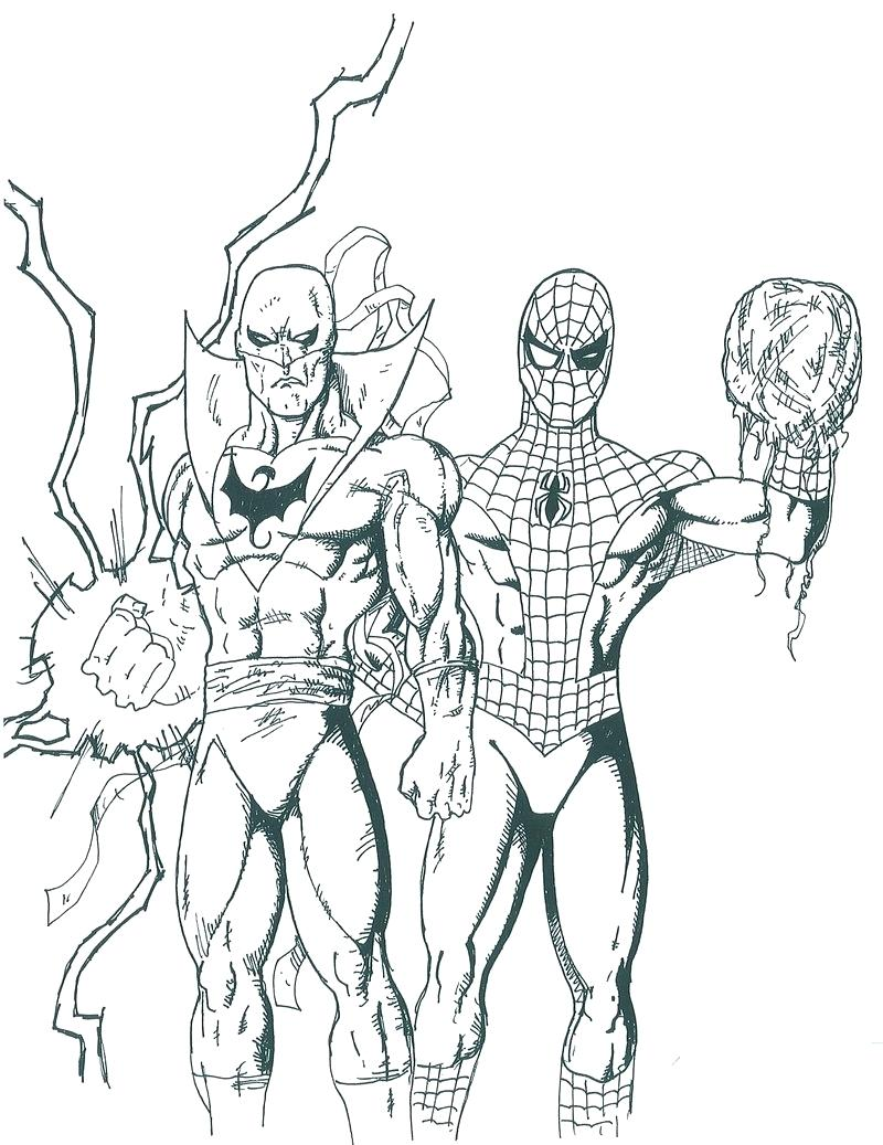 Spiderman Black Suit Drawing at GetDrawings.com   Free for ...