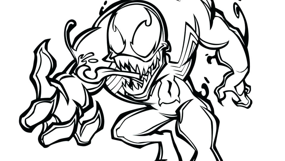 960x544 Spiderman Coloring Page