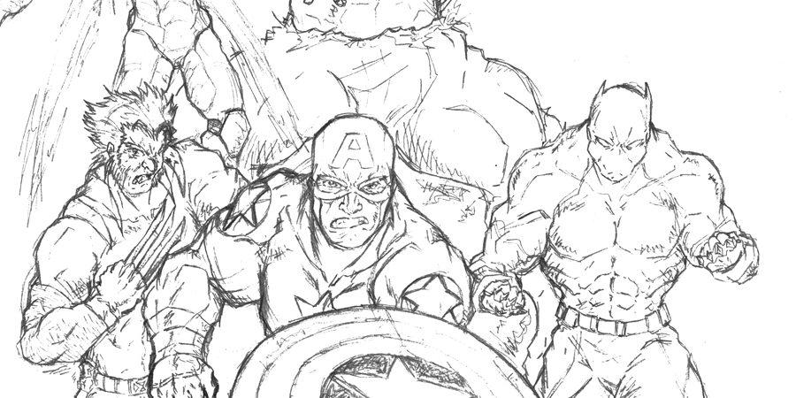 900x450 Civil War Spiderman Civil War Coloring Page Captain America