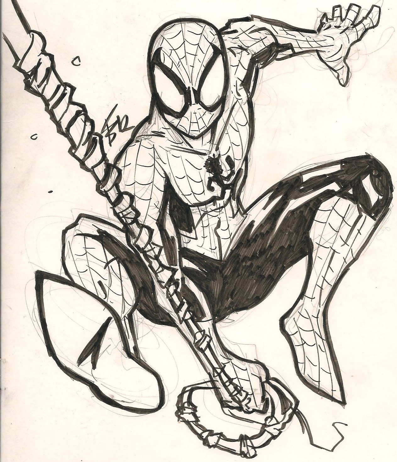 1263x1470 Dope Spiderman Cover With Hatchetman! Faygoluvers