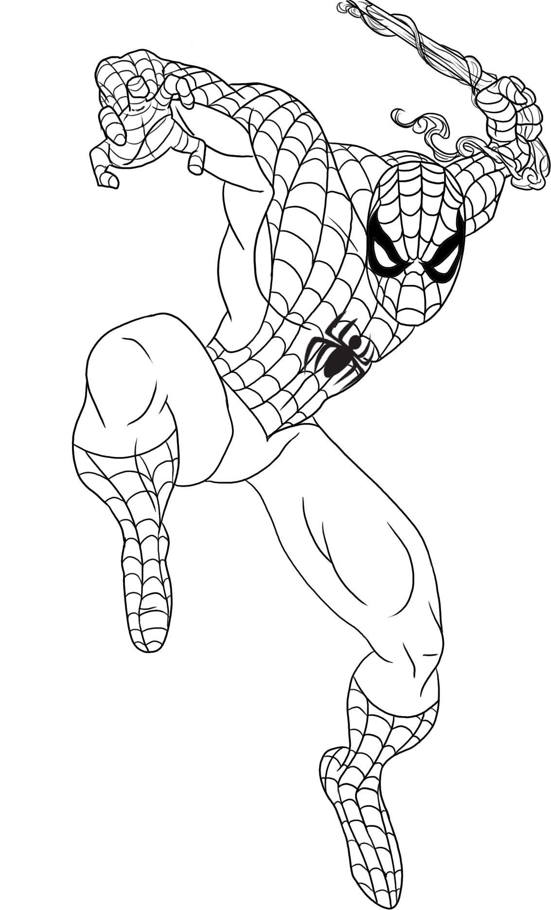 Spiderman Comic Drawing at GetDrawings.com | Free for personal use ...