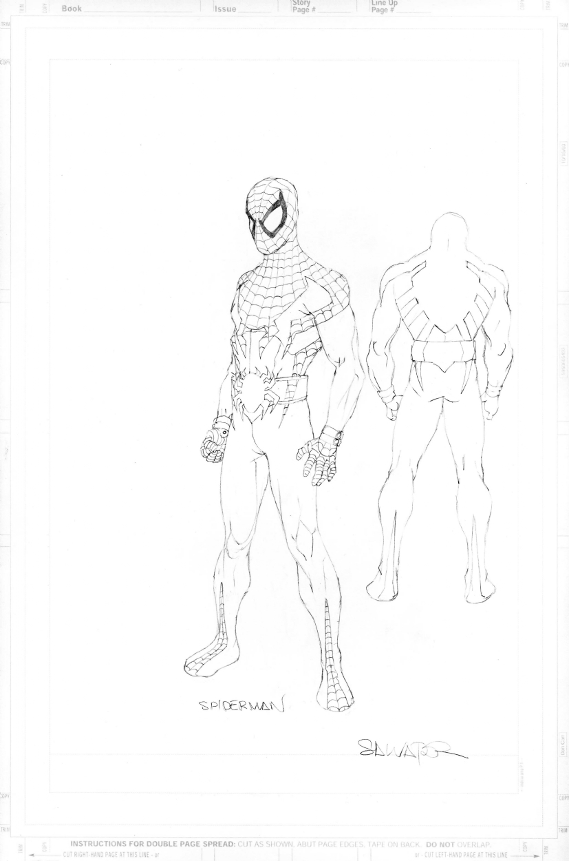 827x1250 House Of M Spider Man By Salvador Larocca, In Fazle C's Spider