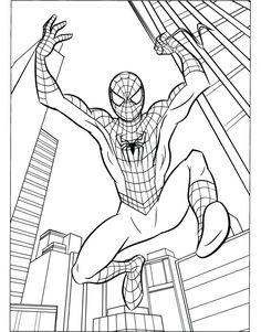 236x301 How To Draw Spiderman Spiderman, Drawings And Drawing Ideas