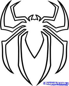 236x293 Spiderman Printable Logo Cake Templates Spiderman