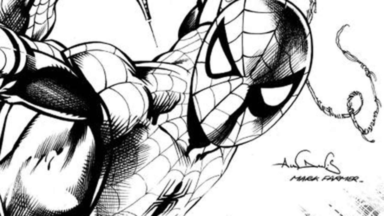 1280x721 Superstar Marvel Artist Brings Spider Man To Life On Limited