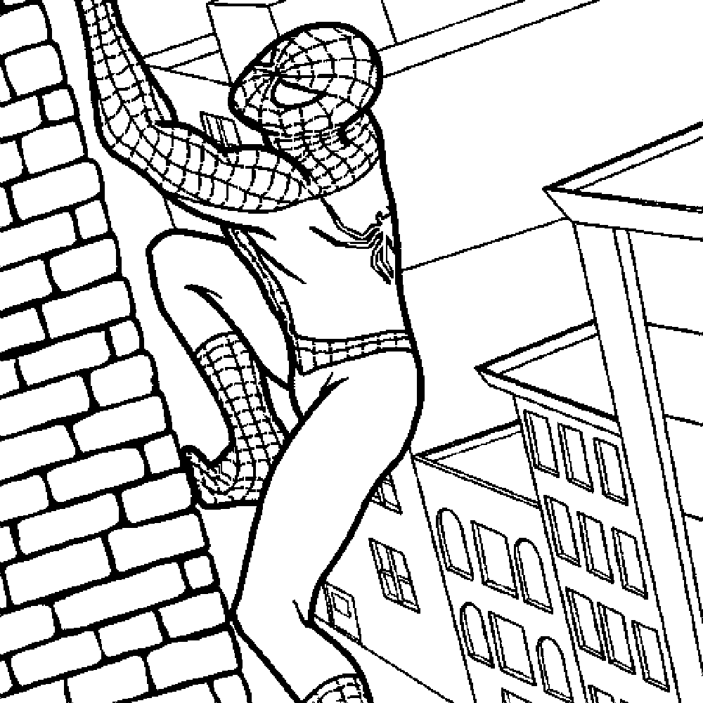 Spiderman Drawing Easy at GetDrawings.com | Free for personal use ...