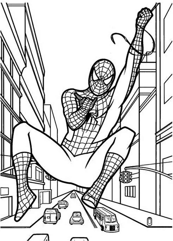 600x833 How To Draw Spiderman Coloring Page How To Draw Spiderman