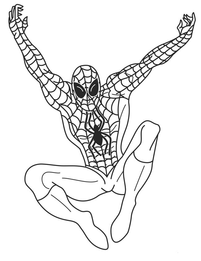 650x842 spiderman drawings for kids316872