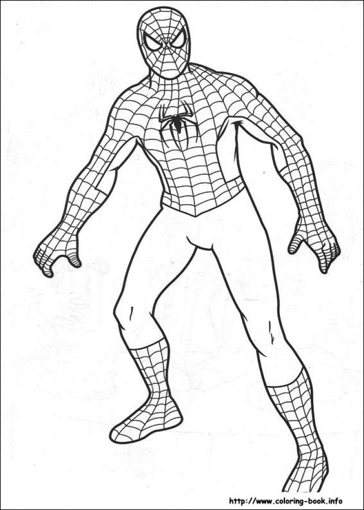 731x1024 Spiderman Drawings To Color