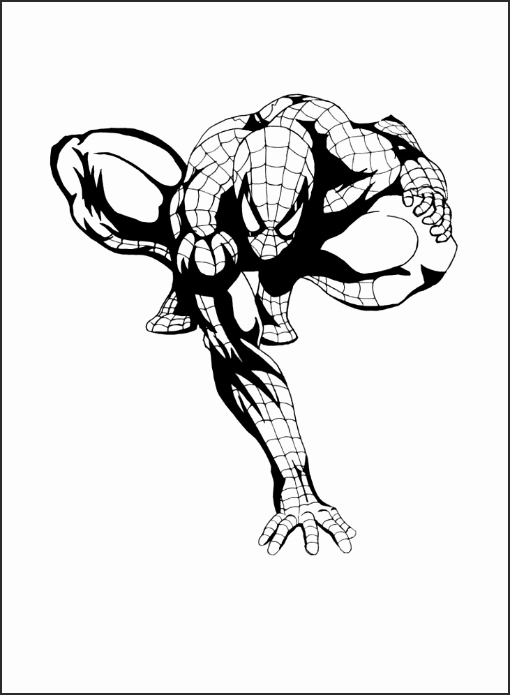 Spiderman Pumpkin Stencil 68161 Loadtve