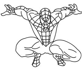 269x228 Photos Easy Spiderman Drawing,
