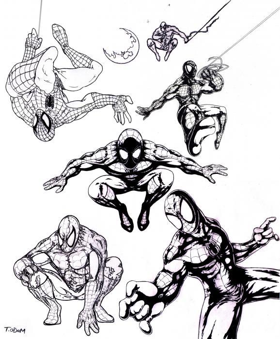 578x700 Spiderman Prints