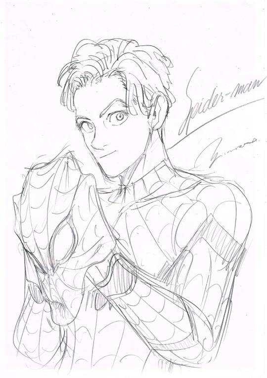 540x765 Spider Man Manga Tumblr