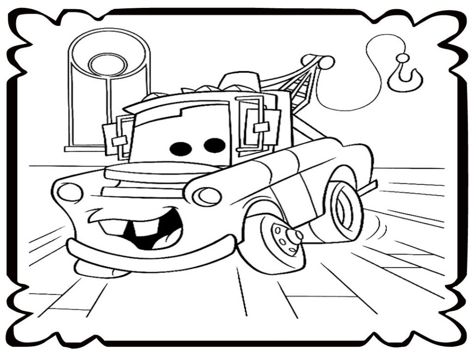970x728 Coloring Mater Coloring Book How To Draw And Color Spiderman Tow