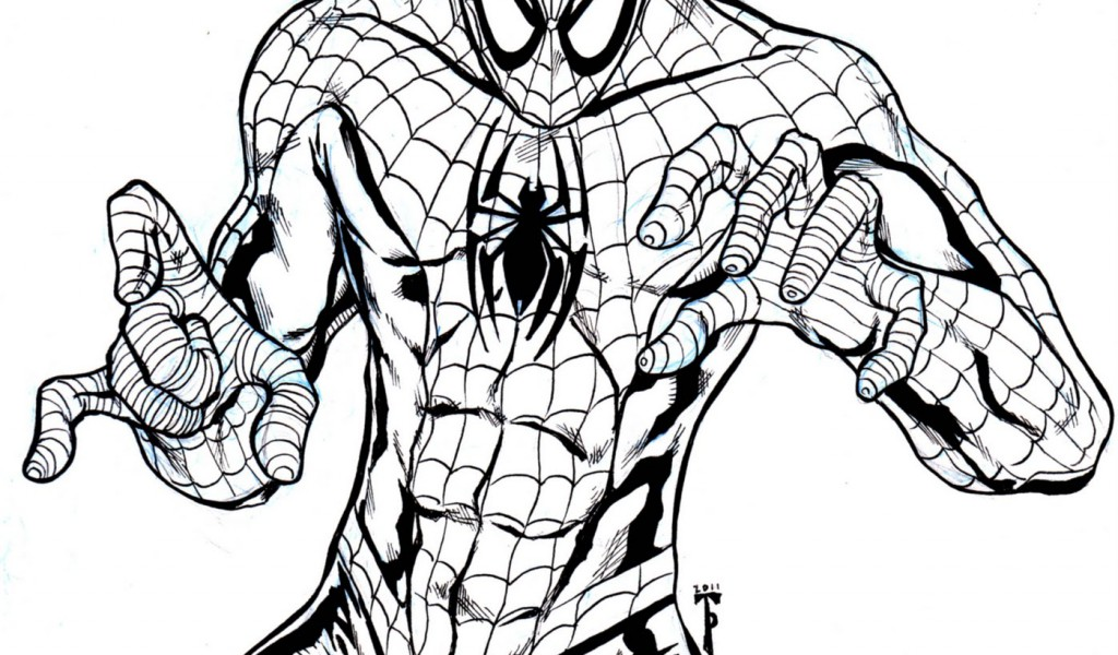Spiderman Easy Drawing at GetDrawings.com | Free for personal use ...