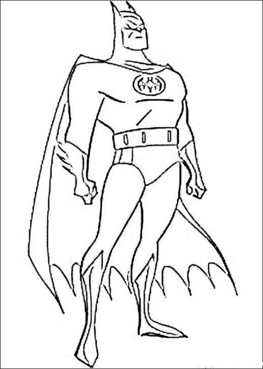 518x725 Superhero Coloring Pages For Kids A Pack Of Free Boys
