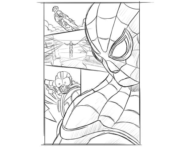 Spiderman Homecoming Drawing at GetDrawings | Free download