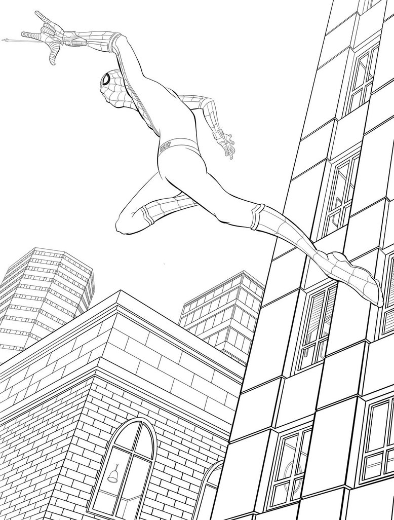 778x1026 Spider Man Homecoming By Mike Bunt