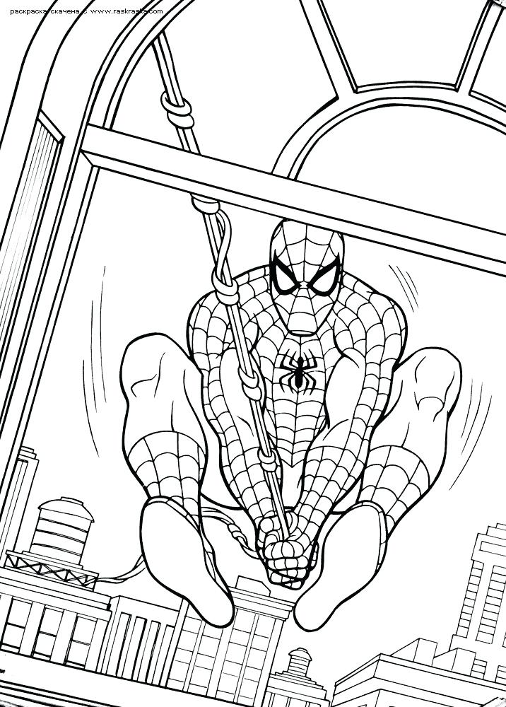 Spiderman Homecoming Drawing At Getdrawings Com Free For